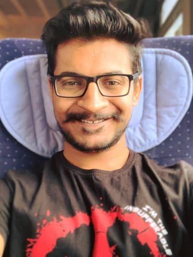 A picture of Ashwin karthick Natarajan