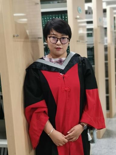 A picture of Dandan Zhao